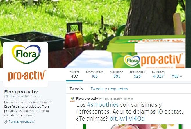 Redes sociales de Unilever