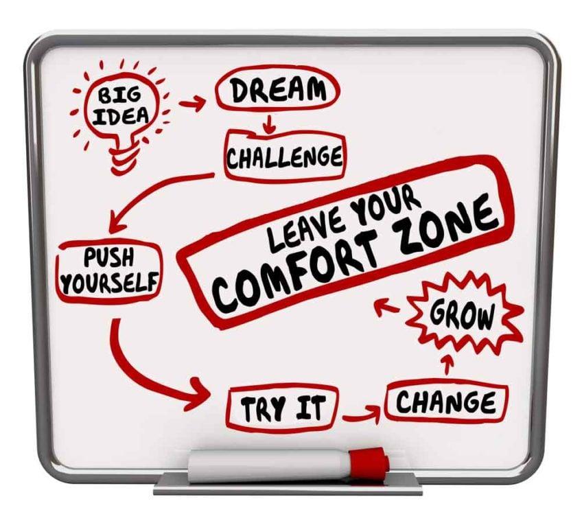 Cómo sacar a tu marca de su área de confort