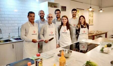 Evercom celebra el primer showcooking entre influencers y Directores de Marketing y Comunicación