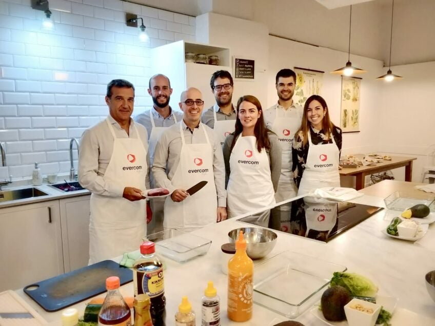 Evercom celebra el primer showcooking entre influencers y Directores de Marketing y Comunicación