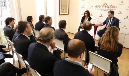 Evercom organiza un coloquio con Isabel Díaz Ayuso  sobre comunicación política y actualidad