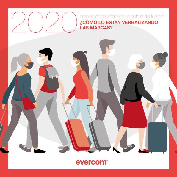 2020: el peor año registrado en la historia del turismo. ¿Cómo lo están verbalizando las marcas?